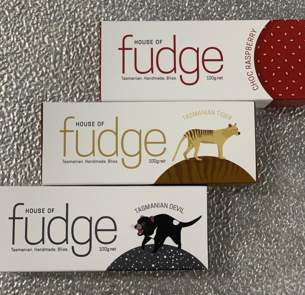 House of Fudge 100g Tasmania made fudge