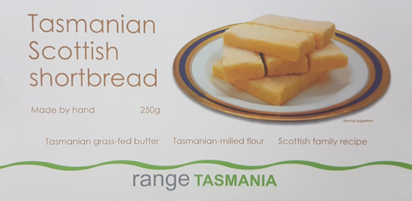 Range Tasmania Scottish Shortbread 25g