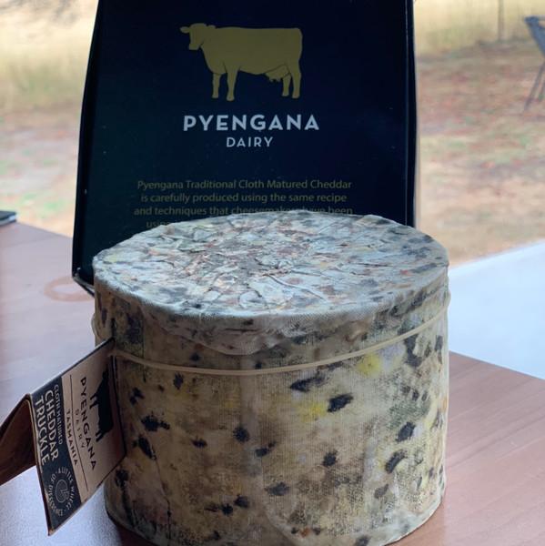 Pyengana Dairy Cloth Bound Cheddar Truckle 900g-1kg