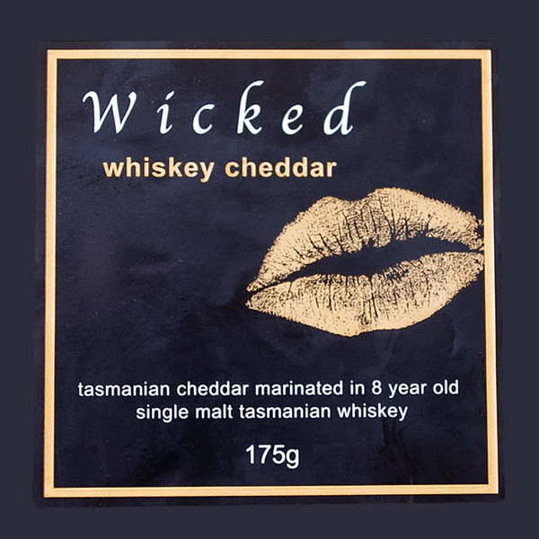 Wicked Whisky Cheddar 175g