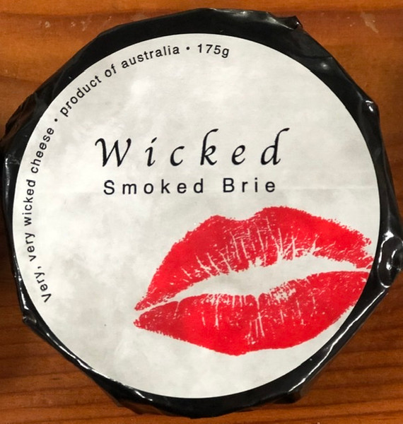 Wicked Smoked Brie 175g