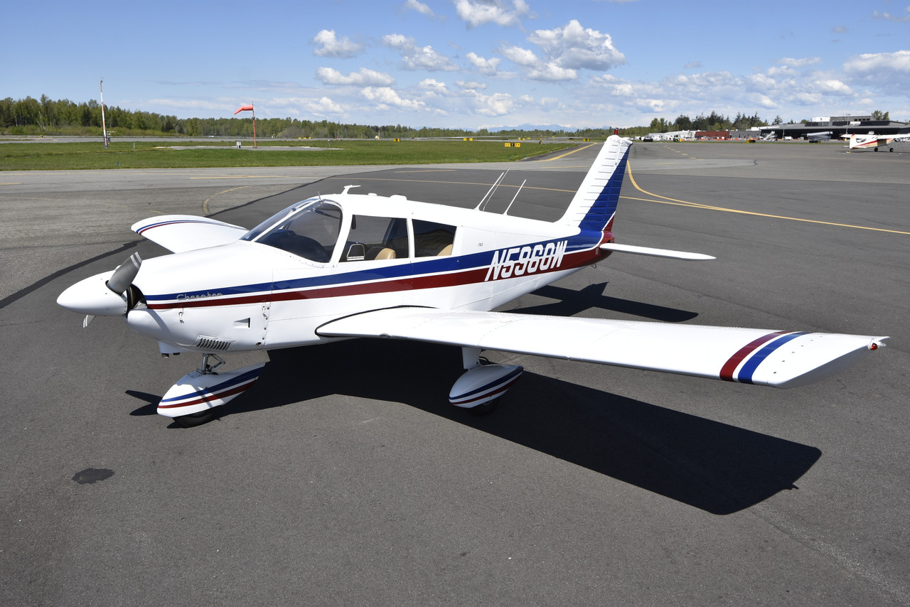 SOLD - 1966 Piper PA-28-150 Cherokee 160 HP (May 2019)