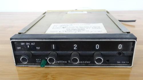 Collins Communications TDR-950 TSO, Mode C- Transponder