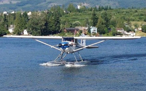 SOLD - 1948 Luscombe 8A/E Project Plane on Edo Floats (Dec 2018)