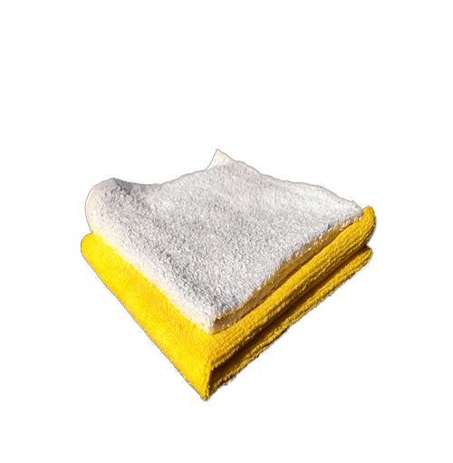 Terry Cloth & Microfiber Towel Set