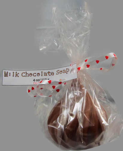 Milk Chocolate Kiss Soap