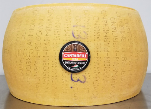 Parmigiano-Reggiano, aged 16 months, cow's milk cheese, Italy, Cantarelli, Italian cheese