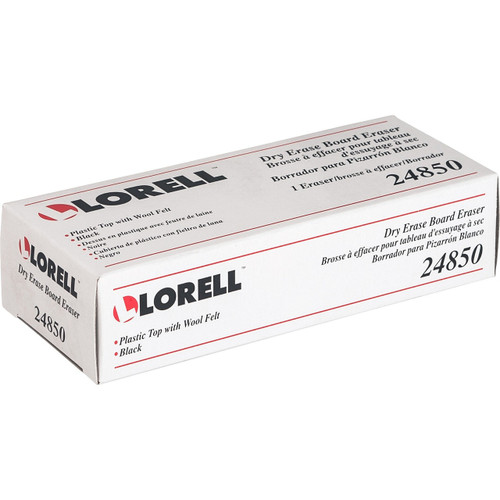 Lorell Cloth Dry-erase Board Eraser