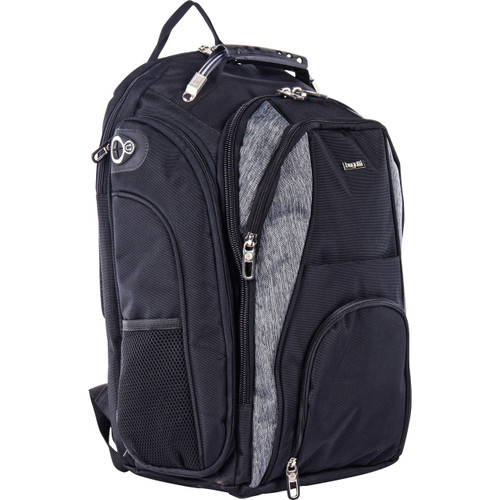 "bugatti Carrying Case (Backpack) for 17.3"" Notebook - Black/Gray"