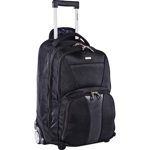 "bugatti Carrying Case (Rolling Backpack) for 15.6"" Notebook - Black"