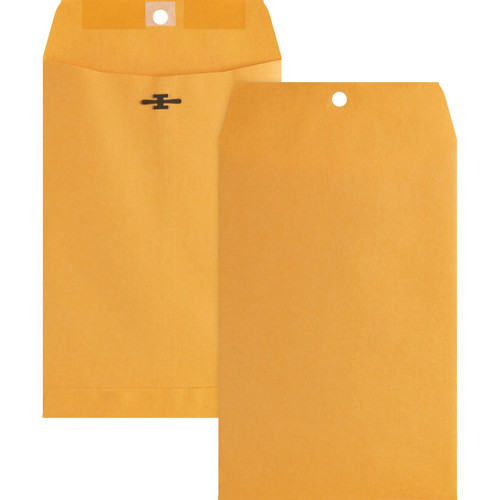 Business Source Heavy-duty Metal Clasp Envelopes