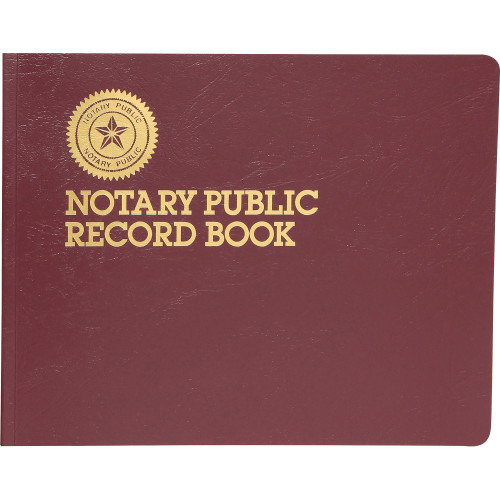 Dome Notary Public Book