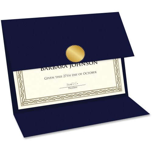 Geographics Double-fold Certificate Holder