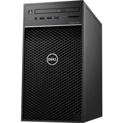 Dell Precision 3000 3630 Workstation - Core i7 i7-8700K - 16 GB RAM - 1 TB HDD - 256 GB SSD - Tower