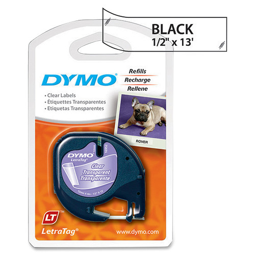 Dymo Letra Tag Labelmaker Tapes