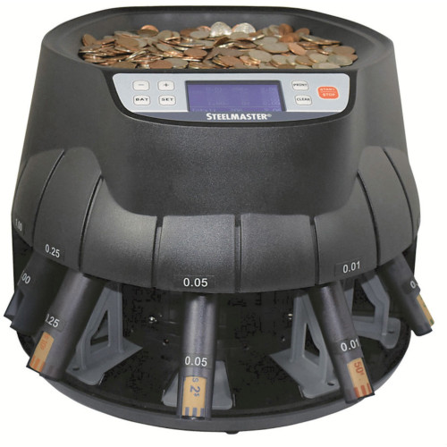 Steelmaster C200 Coin Sorter All-in-one