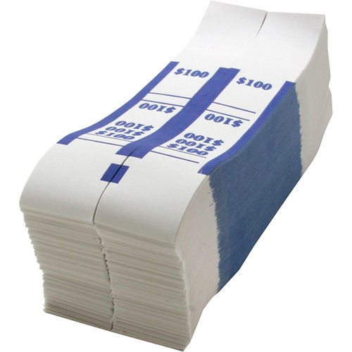 Sparco White Kraft ABA Bill Straps