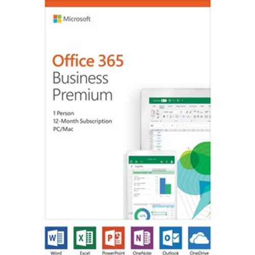Microsoft Office 365 Business Premium - Box Pack - 1 User - 1 Year - Medialess - English SUB 1YR NA ONLY MEDIALESS