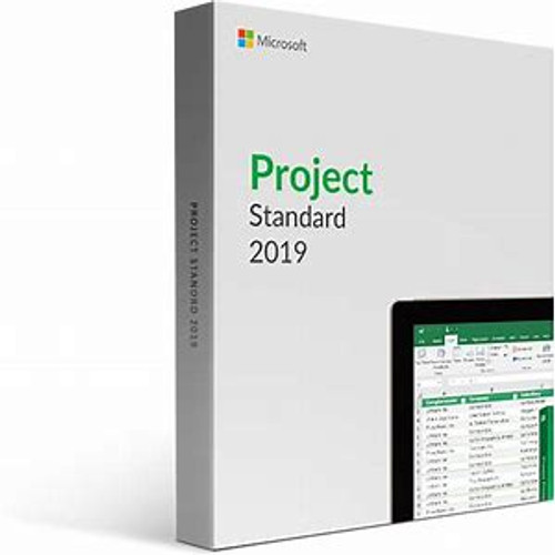 Microsoft Project 2019 Standard for Windows 10 - License - 1 PC - Download - All Languages - PC DWNLDESD ** NO RETURNS