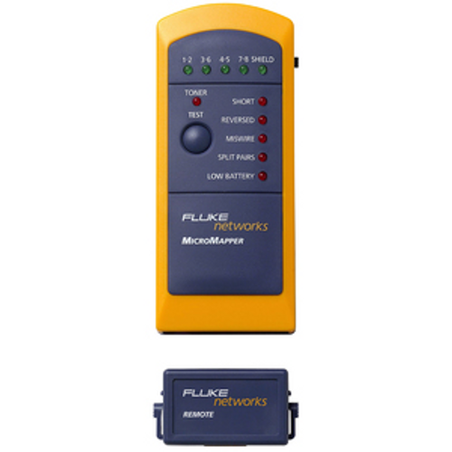 Fluke Networks MicroMapper MT-8200-49A Network Testing Device - 1 x RJ-45
