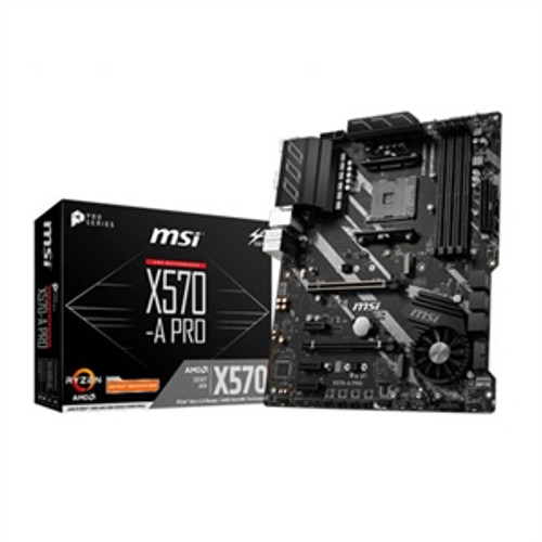 MSI X570-A PRO Desktop Motherboard - AMD Chipset - Socket AM4