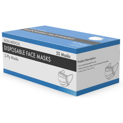 Sourcingpartner 3-ply Disposable Face Mask
