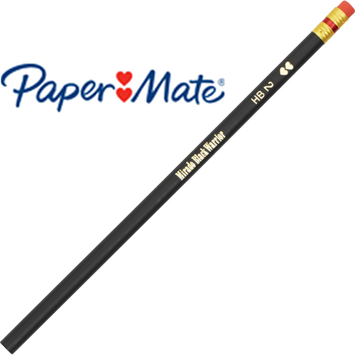 Paper Mate Mirado Black Warrior Pencils with Eraser