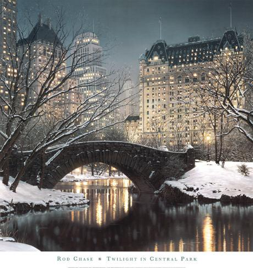 Twilight in Central Park  By: Rod Chase