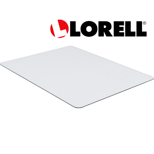 Lorell Tempered Glass Chairmat