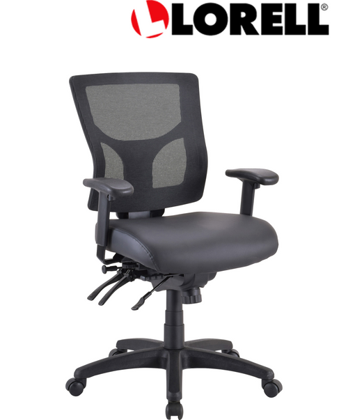 Lorell Conjure Executive Mid-back Mesh Back Chair Frame