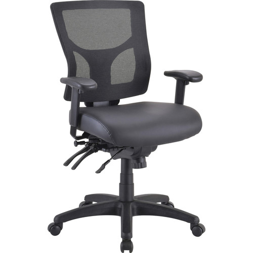 Lorell Antimicrobial Vinyl Seat Cushion for Conjure Executive Mid/High-back Chair Frame