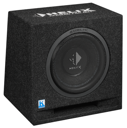 "Helix K 10E - 10"" Car Audio Enclosed Passive Subwoofer."
