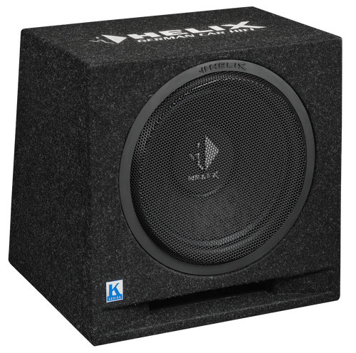 "Helix K 12E - 12"" Car Audio Enclosed Passive Subwoofer."
