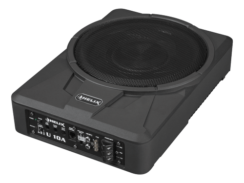 "Helix U 10A - 10"" Car Audio Enclosed Active Subwoofer."