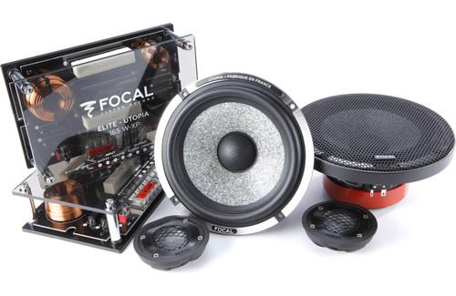 "Focal Utopia M 165W-XP - Two way 6.5"" Car Audio Component Speaker Set."