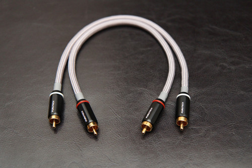 Dynamic Audio ST1-1M - Car Audio RCA Interconnect.