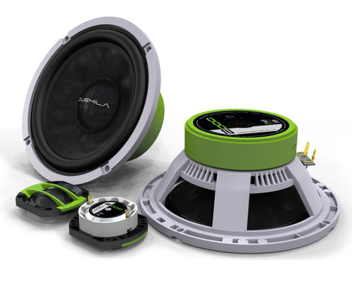 "ESB 2.6K2 - Two way 6.5"" Car Audio Component Speaker Set."