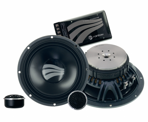 "Rainbow Germanium GL-C6.2 - Two way 6.5"" Car Audio Component Speaker Set."