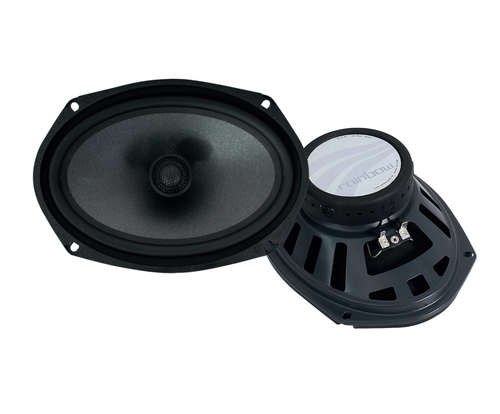 "Rainbow Dream DL-X69 - Two way 6x9"" Car Audio Coaxial Speaker Set."