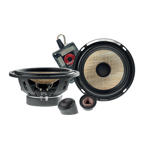 """Focal Flax Evo PS165FE - Two way 6.5"""" Car Audio Component Speaker Set."""