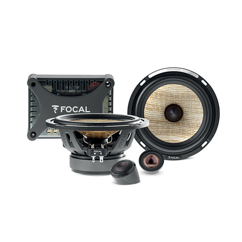 """Focal Flax Evo PS165FXE - Two way 6.5"""" Car Audio Component Speaker Set."""