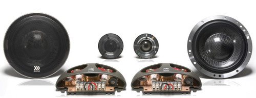 "Morel Supremo 602 - Two way 6.5"" Car Audio Component Speaker Set."