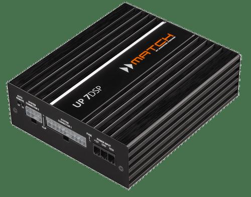 Match UP 7DSP - Seven Channel Car Audio Amplifier / Processor.
