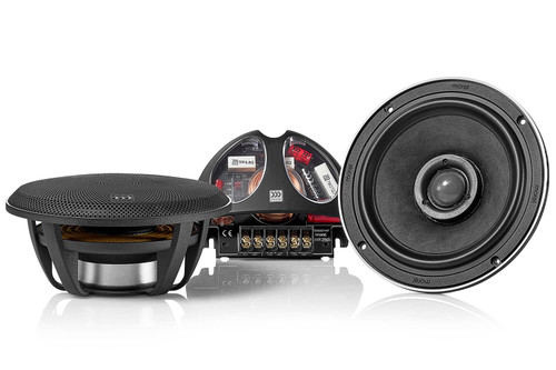 "Morel Hybrid Integra 62 - Two way 6.5"" Car Audio Coaxial Speaker Set."