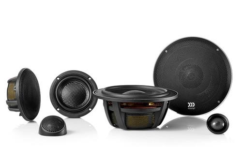 "Morel Elate Carbon 63 Active - Three way 6.5"" Car Audio Component Speaker Set."