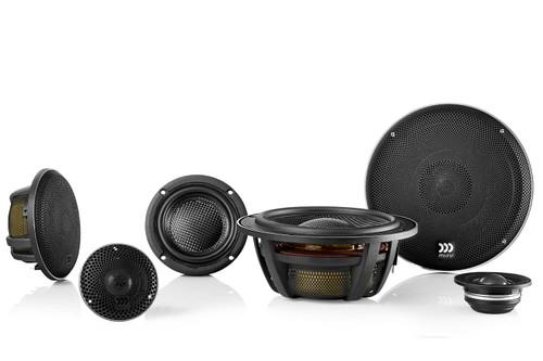 "Morel Elate Carbon Pro 63 Active - Three way 6.5"" Car Audio Component Speaker Set."