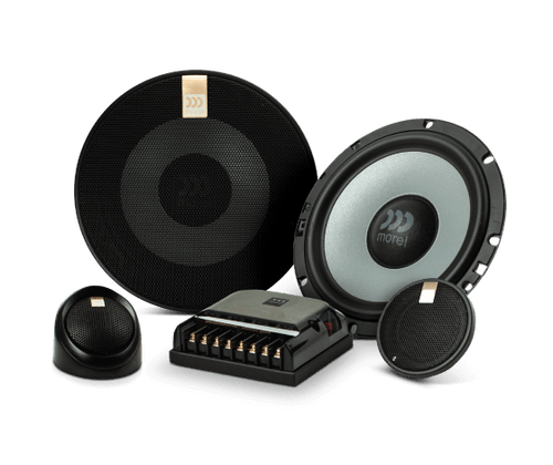 """Morel Maximo Ultra 602 - Two way 6.5"""" Car Audio Component Speaker Set."""