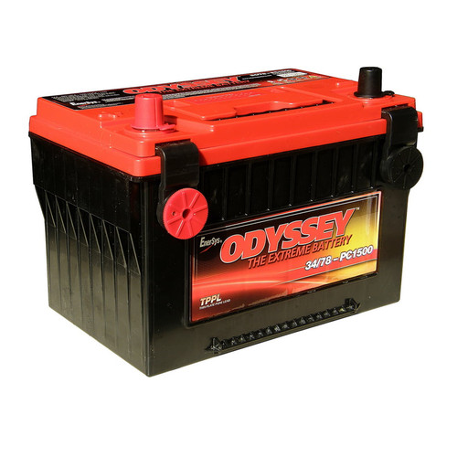 Odyssey PC1500DT - Deep Cycle Car Battery.