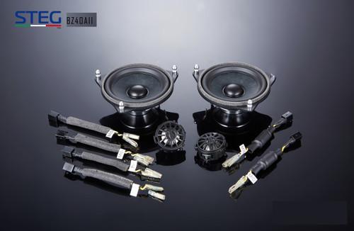 "Steg BZ40AII - Two way 4"" Car Audio Component Speaker Set."