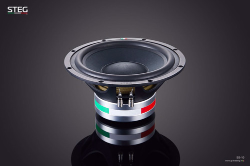 "Steg Masterstroke SS10 - 10"" Car Audio Component Subwoofer."